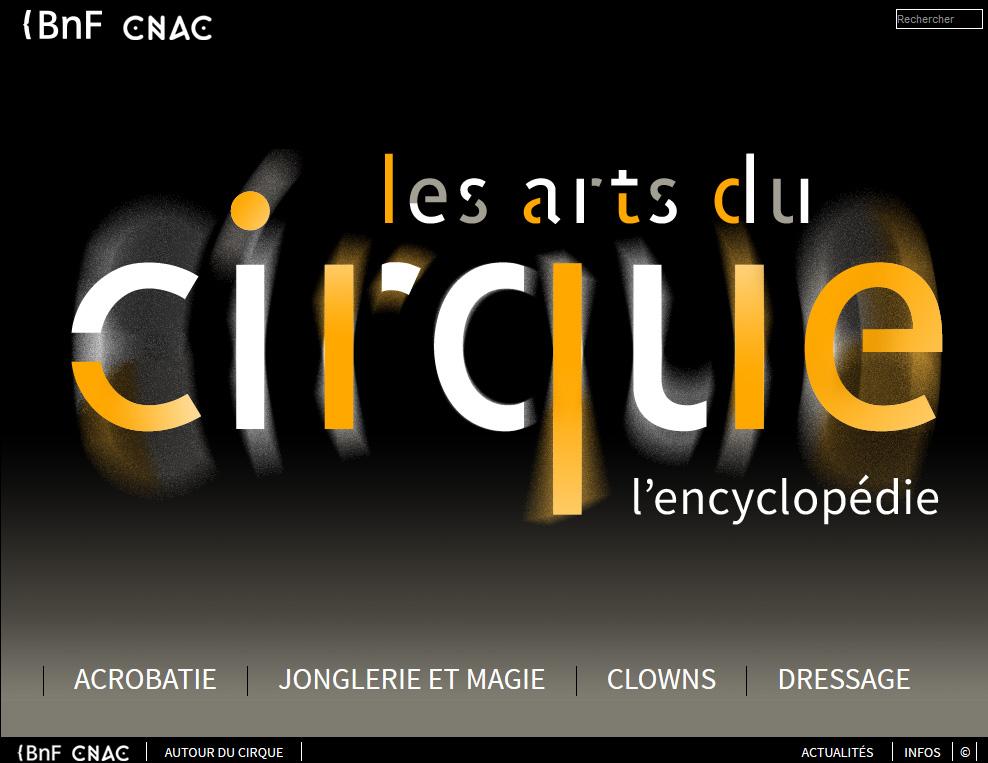 Encyclopédie les arts du cirque Teaser