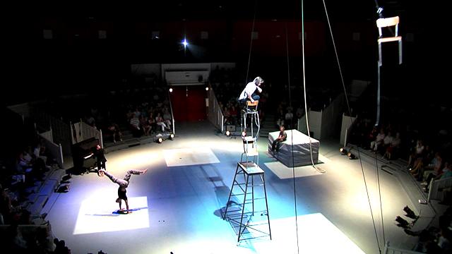 Cirque à l'oeuvre, 25 ans du Cnac 1er mai 2011