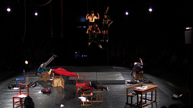 Spectacles des écoles de cirque - CIRCa 2015