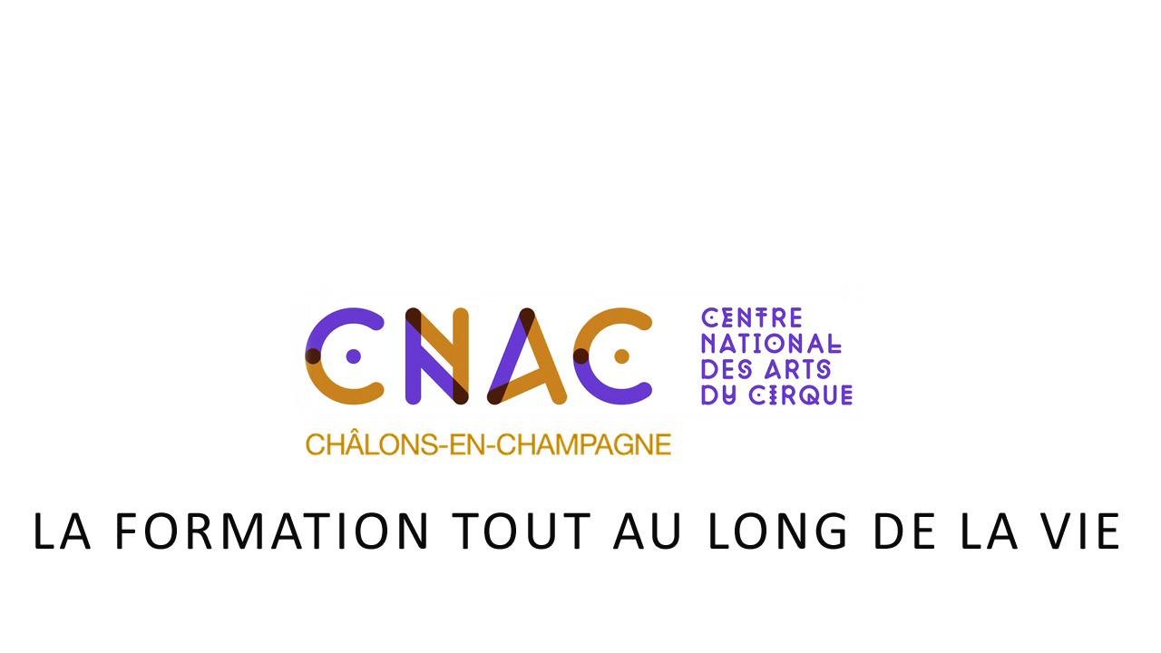 LA FORMATION TOUT AU LONG DE LA VIE AU CNAC