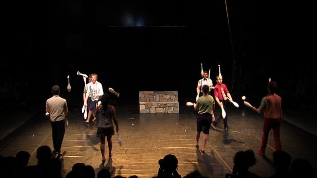 Spectacles des écoles de cirque - CIRCa 2014