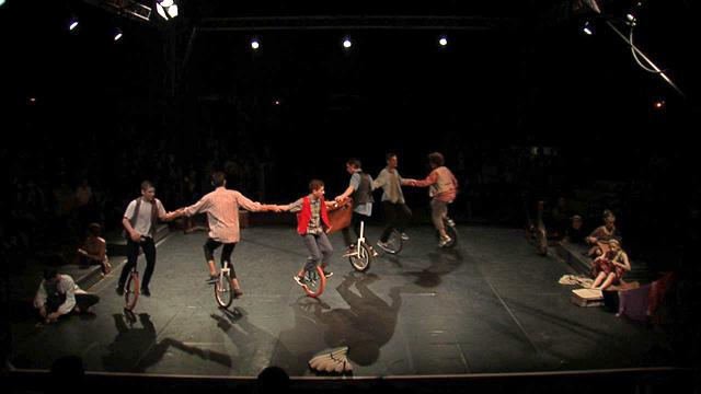 Spectacle des écoles de cirque - CIRCa 2016
