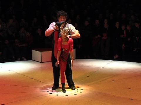 Cirque Aïtal - La piste Là