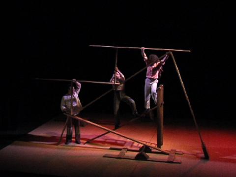 Cie Chabatz d'Entrar - Mobile, spectacle de planches